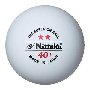 Nittaku 3-Star PREMIUM 40+ Table Tennis Balls Plastic Ball Cell-Free