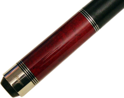 Players Classically Styled Crimson Maple Pool Cue (C-960)